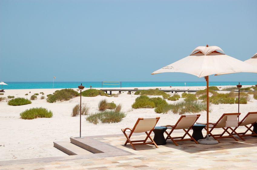 strand in abu dhabi