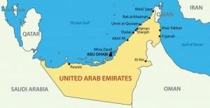 kaart abu dhabi